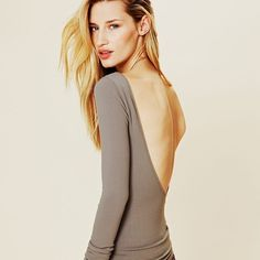 Free People Low Back Cami In great gently used condition. No pilling or stains. Pictures coming soon Free People Tops Tees - Long Sleeve