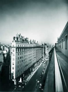 La Comedia Terminó: Horacio Coppola, alma de fotógrafo -  Avenida Presidente Roque Sáenz Peña, 1936