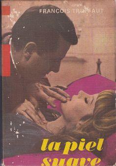 Libro La piel suave, peli de François Truffaut. Mercado de la tía Ni, Sabaris, Baiona. Libros de segunda mano, antiguos, rastro, antigüedades.