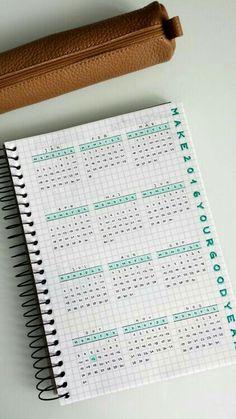 Ejemplo de registro anual