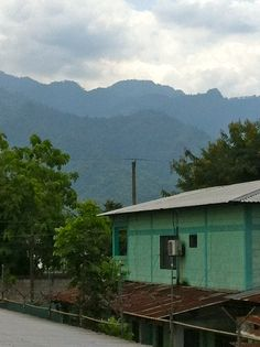 There is mountains in honduras we are going to be right at home! This is the view in san Pedro sula!