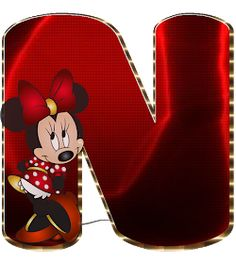 Mickey Mouse Letters, Mickey Mouse Cake, Minnie Mouse Party, Minnie Png, Mickey Y Minnie, Cute Alphabet, Alphabet And Numbers, Minnie Mouse Background, Character Letters