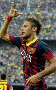 Neymar #Barca Soccer Guys, Good Soccer Players, Real Madrid, Barca Real, I Love Him, My Love, Neymar Jr, Fc Barcelona, Sports News