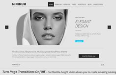 WordPress - MINIMUM - Professional WP | ThemeForest