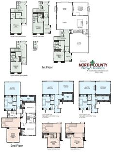 Westerly New Homes In San Marcos, CA Floor Plans. New Construction Homes  And Real