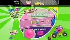TURNER Cartoon Network : Splot Dentro de la seccion de Juegos de Cartoon Network tienen lugar promociones de productos destinados a los mas chicos, en este caso nos encargaron diseñar un Brand Game y actividades para niños en Flash para Splot. ver demo: http://www.e-zense.com/portfolio/turner/cartoon-network/splot/