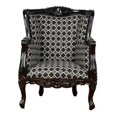 Fabulous & Baroque: LTD Aveline Chair Black Gry Wht, at 44% off!