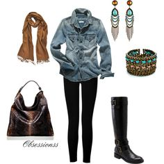 Cool weather comfy...