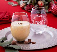 Happy Elf Eggnog Cocktail Recipe via Cost Plus World Market >> #WorldMarket Holiday Entertaining