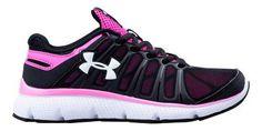 Under Armour Girls PS Pulse II Running Shoe UAW1314-BK003-1.5-M,    #UnderArmour,    #UAW1314,    #running