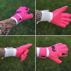 Bu1 All pink check our page www.bu1gloves.com shipping is free worldwide #goalkeepergloves #goalkeeper #football ##goalkeeping