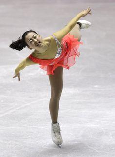 Japan's Mao Asada performs during the women's short programme at the ISU World Team Trophy in Figure Skating in Tokyo April 11, 2013. (525×720)  http://uk.eurosport.yahoo.com/photos/figure-skating-slideshow/japans-mao-asada-performs-during-womens-short-programme-photo-114848104.html