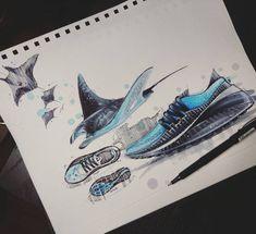 Aucune description de photo disponible. Strate Design, Sketch Inspiration, Design Inspiration, Hidrocor, Sneakers Sketch, Industrial Design Sketch, Sketch Markers, Car Drawings, Cool Sketches