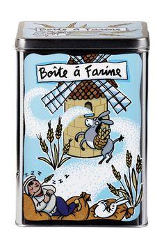 keladeco.com - #boite à #farine, idée deco cuisine, boite valérie nylin, boite derrière la porte, DLP