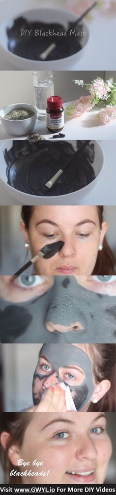 Are you struggling with stubborn blackheads that keep coming back? Well, it's time to say adiós to those unpleasant skin problems because today you'll learn how to make a DIY blackhead removal mask that will only take you a few minutes to create! See video and full written instructions here: gwyl.io/...