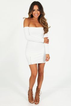 e977d9acf6c Share to save on your order instantly! RESTOCK  Sent From Above Dress  White