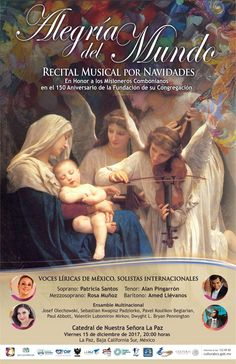 CONCERT JOY OF THE WORLD MUSICAL RECITAL FOR CHRISTMAS, 15-Dec, Catedral de Nuestra Señora de La Paz, La Paz