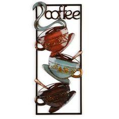 Hot Coffee Plaque #kirklands #creativekitchen