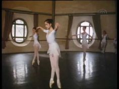 Paris Opera Ballet Students  ballet class in a round room