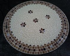 Mesa Mosaico Dubai Florzinhas