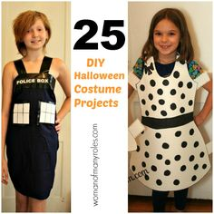 25 DIY Halloween Costume Projects - paper doll costume - funny, easy, cute!
