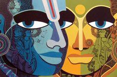 Nagesh Goud | Paintings by Nagesh Goud | Nagesh Goud Painting - SuchitrraArts.com