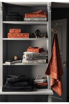 Prosop de baie cu motiv jacard - Negru - HOME Zara Home, Schwarz Home, H & M Home, Beautiful Interior Design, Bath Sheets, Bath Linens, Guest Towels, Bathroom Cabinets, Jacquard Weave