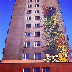 Swanski @Katowice Street Art Festival || fot. Swanski