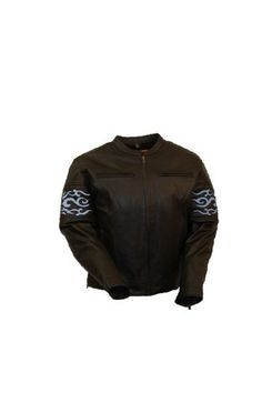 Special Offers - First Manufacturing Mens Reflective Tribal Band Jacket (Black Medium) - In stock & Free Shipping. You can save more money! Check It (April 04 2016 at 03:35PM) >> http://motorcyclejacketusa.net/first-manufacturing-mens-reflective-tribal-band-jacket-black-medium/