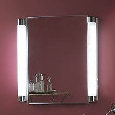 modern bathroom medicine cabinets with light combined with black and white color schemes for the bathroom ideas for the house pinterest bathroom - Medicine Cabinet With Lights