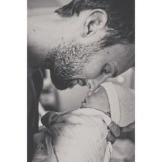 Dads and Babies ❤ liked on Polyvore featuring kids