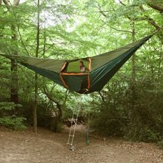149 Backyard Tent Ideas For Your Family Camping Indoor Hammock Bed, Hammock In Bedroom, Backyard Hammock, Portable Hammock, Hammock Tent, Hammock Beach, Hammock Ideas, Portable Shelter, Best Tents For Camping