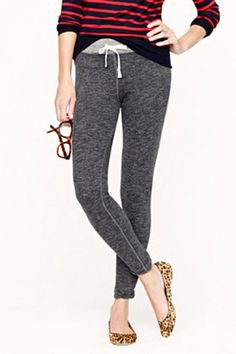J. Crew's Saturday Pant- but they're basically $50 leggings :-/ Too bad, because the heathering is nice