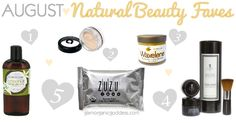 Natural Beauty Faves | August - The Glamorganic Goddess ZuZu Luxe Facial Wipes