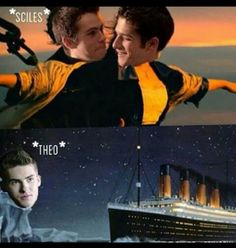 haha Theo -- Teen Wolf