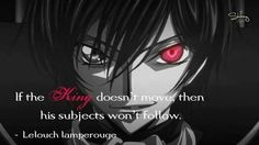 Lelouch quote #anime #manga