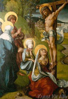 Albrecht Dürer - Christ on the Cross / Dürer / 1495