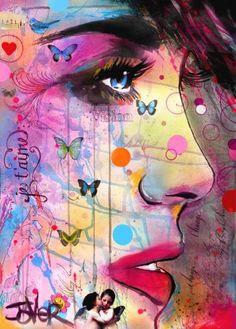 """Saatchi Art Artist Loui Jover; Drawing, """"je táime"""" #art"""