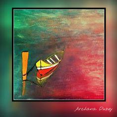 Boat#art#oil#painting
