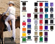 Windsong Western Show Apparel proudly presents CHAMP PANTS, the innovative alternative to traditional western chaps! DITCH THE CHAPS...KEEP THE LOOK! www.champpants.com