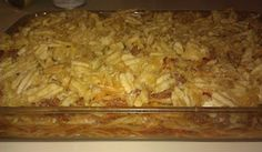 spaghetti and potato chip casserole
