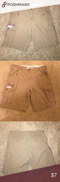 American Rag khaki brown cargo shorts Stylish cargo shorts American Rag Shorts Cargo