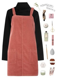 """•••"" by starry-nostalgia ❤ liked on Polyvore featuring Valentino, Dorothy Perkins, Miss Selfridge, Sisley, Pelle, beautyblender, NYX, Serge Lutens, OKA and Origins"
