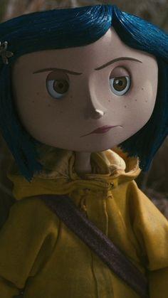 Coraline Movie, Coraline Doll, Coraline Jones, Coraline Aesthetic, Film Aesthetic, Cute Wallpaper Backgrounds, Cute Wallpapers, Multi Sketch, Arte Do Mickey Mouse