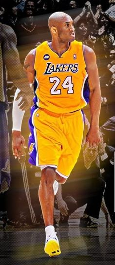 Lakers Kobe Bryant #24 my favorite player