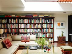 Home is where the books are....