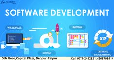 Software is the lifeline of the organizational success of any business. Without the assistance of software, a business will certainly fall into a multitude of fault lines and collapse. We Always aim to offer top quality software solutions with extensive range. Awizom tech is among the best companies for Software Development Services in Raipur.  www.Awizomtech.com Phone no. 0771-2412821, 2412921, 6268708414 Email: info@awizomtech.com Address: 5th Floor Capital Plaza, Near Fruit Market. Development Life Cycle, Website Development Company, Software Development, Application Development, Web Application, Business Software, Mobile App, A Team, Digital Marketing