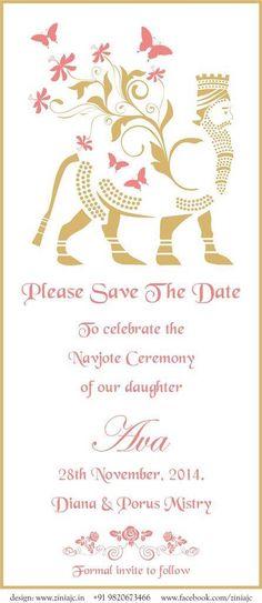 Save the date card from Zinia JC.  Copyright Zinia JC Art & Design. Ziniajc19@gmail.com. Www.Facebook.com/ziniajc