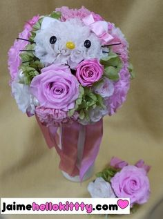 Hello Kitty's Flowers