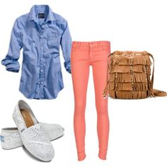 """School day"" by Megan on Polyvore"